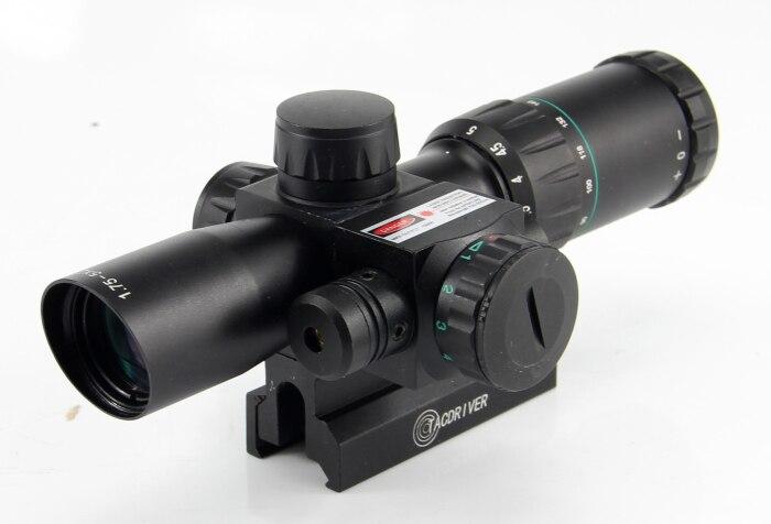 Здесь продается  Tactical 1.75-5X24 Hunting Mil Dot Air Laser Rifle Scope  Спорт и развлечения