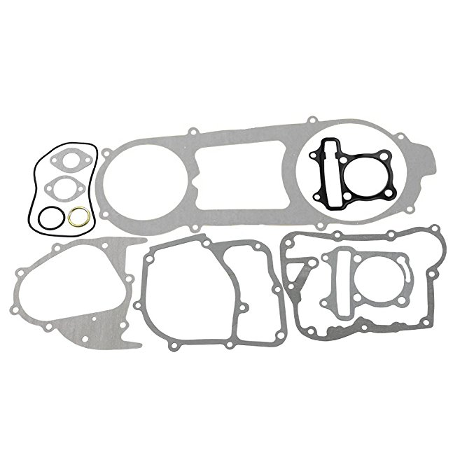 Goofit Transmission Cover Assembly With Start Gear Shaft Belt For