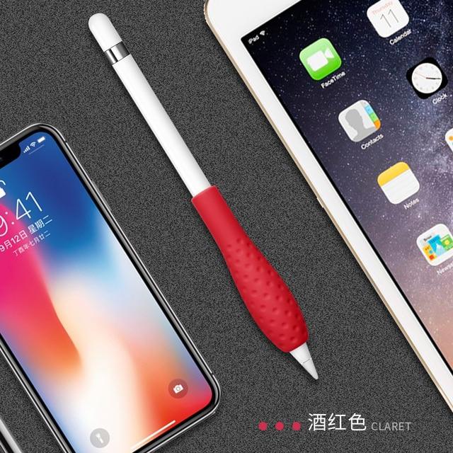 Miękki silikonowy pokrowiec do Apple Pencil 1. Drugiej generacji Protector Skin do Huawei m-pencil/m-pen lite Touch Pen grip akcesoria