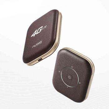 ZTE Nubia WD670 LTE Cat4 mobilny Hotspot WiFi tanie i dobre opinie wireless Zewnętrzny 150Mbps Zdjęcie Wcdma