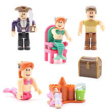 2018 Roblox Set Action Figures Toys Games Model PVC Juguetes Roblox Toys Anime Cartoon Collection Gift Toys For Children #E(China)