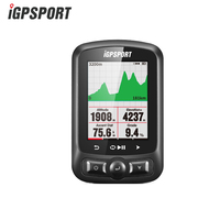 Я gps порт IGS618 gps Велоспорт компьютер Беспроводной IPX7 Водонепроницаемый велосипед цифровой секундомер Велоспорт Спидометр ANT + Bluetooth 4,0
