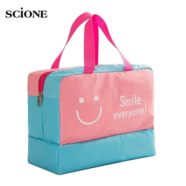 Scione Beach Swimming Bag Dry Wet Sports Pool Bags Swimsuit Swimwear Men Sack Storage Travel Gym