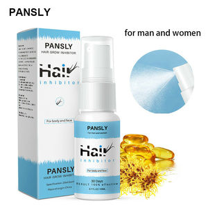 Natural Semi-Permanent Hair Removal Spray Herbal Hair Growth Inhibitor Serum Oil Body Care(China)