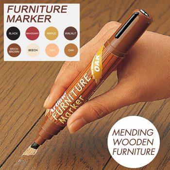 8 Kolory 2-5mm Podłogi Drewniane Stoły Krzesła Meble Scratch Remover Naprawy Pisakiem Markery Do Cerowania