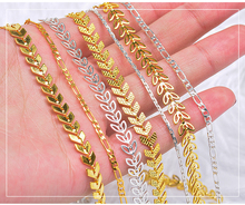 2018 new Nail Glitter Rhinestones 50cm Nail metal Punk chain gold silver DIY Bead Twisted Jewelry  nail decorative