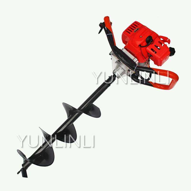 71CC Hole Digger 30cm Earth Auger Petrol Driller Fence Borer Engine Drilling and Digging Machine for Tree Planting