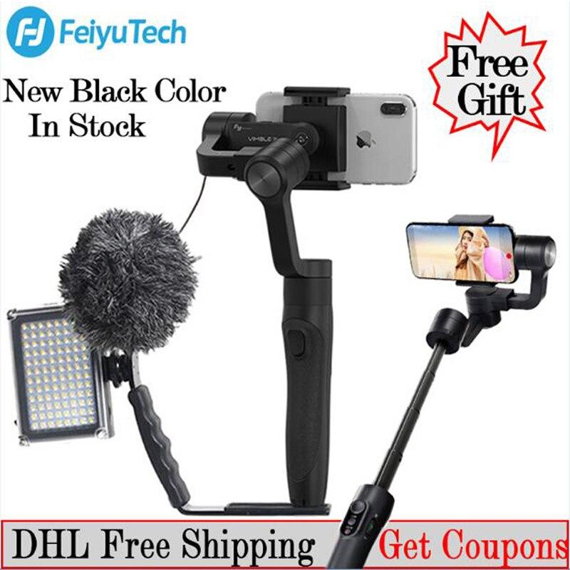 FeiyuTech Feiyu Vimble 2 3-axe Téléphone Poignée Cardan Stabilisateur étendu steadicam pour Smartphone iPhone X 8 VS Zhiyun lisse 4