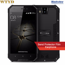 Blackview BV4000 IP68 Waterproof Mobile Phone 4.7″ HD MTK6580A Quad Core Android 7.0 1GB+8GB 8MP Dual Rear Cameras 3G Cellphone