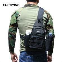 TAK YIYING حقيبة متعددة الاستخدامات مول الصيد التنزه الصيد حقائب الرياضة حقيبة الصدر واحد الكتف التكتيكية على ظهره