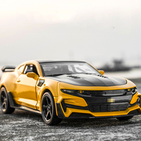 1 32 Hot Wheels Camaro Alloy Diecast Car Models KIDAMI Pull Back Collection Toy Cars For