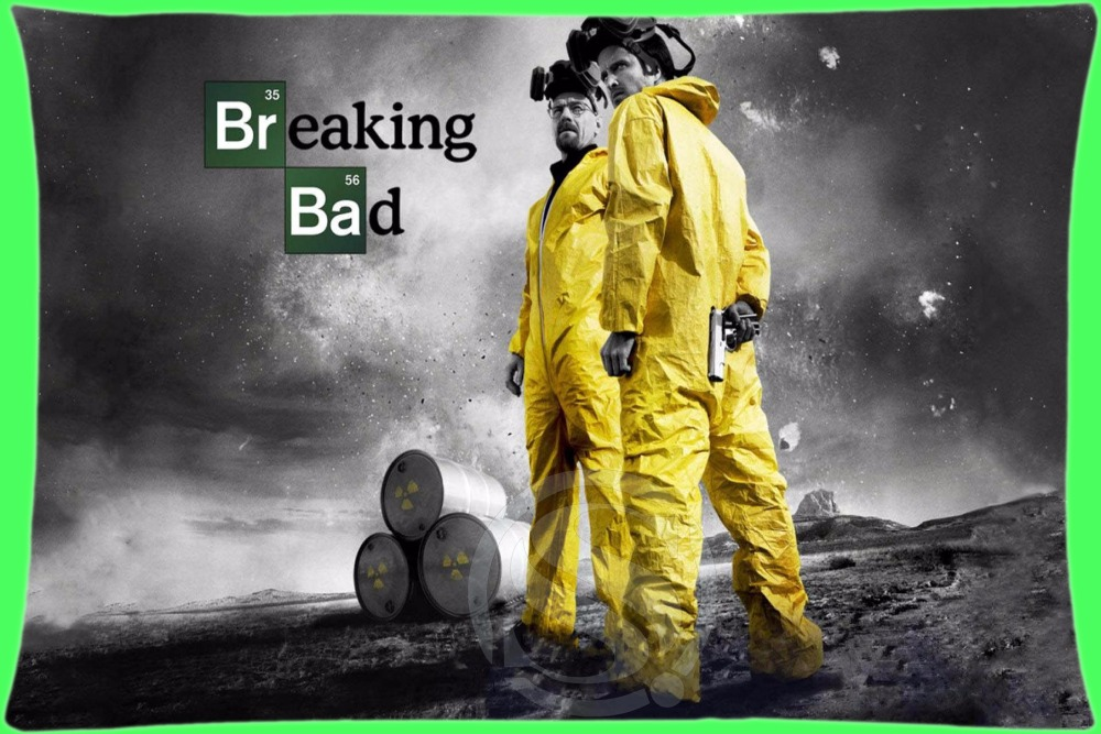Custom Rectangle Zippered Pillow Case Fashion Design breaking bad#2 Pillowcases 16x24 inch (Twin sides) SQ00803-@H042