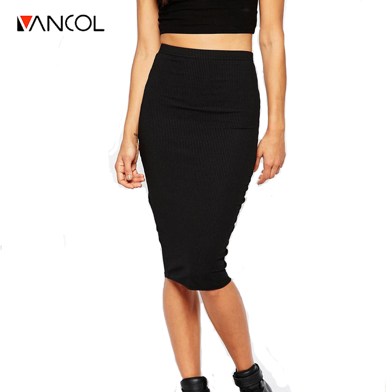 White Long Pencil Skirt Promotion-Shop for Promotional White Long ...