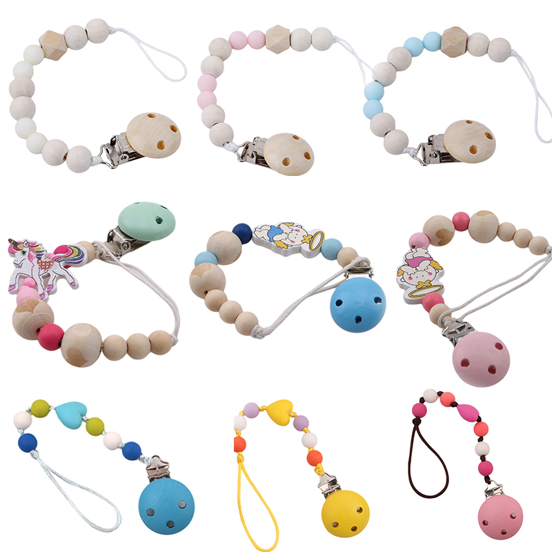 baby-pacifier-clip-chain-wooden-holder-chupetas-soother-pacifier-clips-leash-strap-nipple-holder-for-infant-feeding