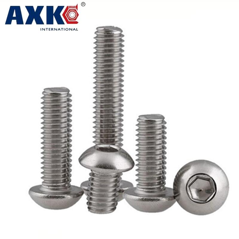 M3 Stainless Steel Phillips Pan Head Machine Screws DIN 7985A GB818 50PCS//100PCS