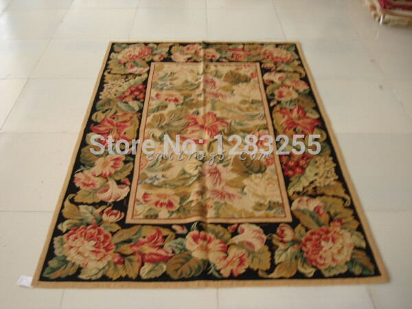 New Unique 100% Wool Hand made Needlepoint Carpet Antique Chinese Hand made Wool Luxury Wool Rug Carpet rugs and carpets sale rugs carpet free shipping - title=
