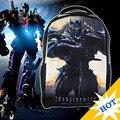 Bolsa de Poliéster Niños Mochilas Bolsos de Escuela de Dibujos Animados Transformers, mochila escolar menino, 2014 nueva mochila de dibujos animados para el Envío Libre