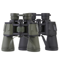 220*50 high magnification long range zoom hunting telescope wide angle professional binoculars high definition