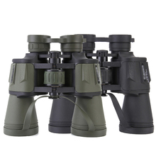 Telescopio de caza con zoom de largo alcance, prismáticos profesionales de gran angular de alta definición, 20x50 Gran Aumento
