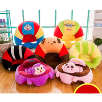 Baby Seat Baby Support Seat Soft Sofa Cartoon Plush Sofa Infant Learning To Sit Sofa