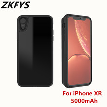 For iphone XR Battery Case 5000mAh Large Capacity  High Quality Wireless Charger Cover Power Bank