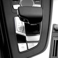 For Audi A5 A4 B9 2017 2018 High Quality ABS Chrome Gear Shift Panel Cover Decoration Trim Interior Auto Accessories