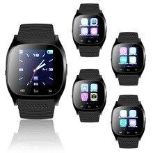 Продажа Последним обновление Беспроводной Bluetooth Smart часы Смарт-наручные интеллектуальные часы синхронизации телефона Коврики для IOS Apple для iPhone для Android