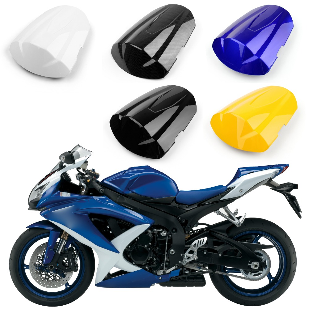 Areyourshop Motorcycle ABS Plastic Rear Seat Cover Cowl For Suzuki GSXR600 GSXR750 2008-2009 K8 Motorbike Part New Arrival