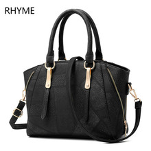 Rhyme Luxury women HandbagsBag Elegant Vintage Soft Casual Tote Top-handle Shoulder Bags Original Design Totes
