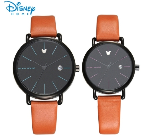 Disney Women Watches Brand Luxury Quartz Watch Man Mickey Mouse Fashion Casual C