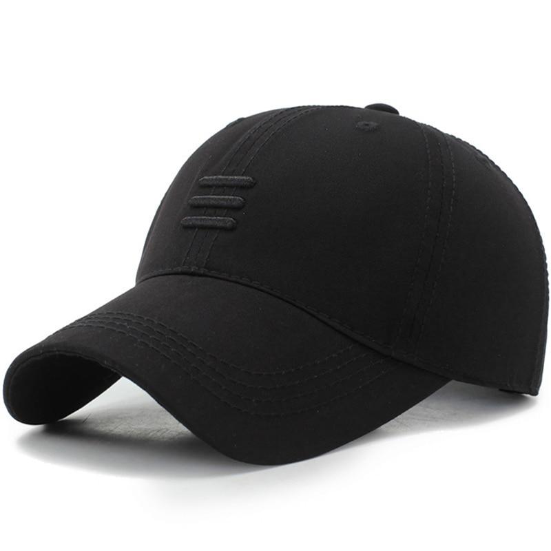 Mens Brand Baseball Caps Cotton Summer Cap For Women Bone Gorras Black Dad Hats Casquette Snpback