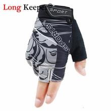 Противоскользящие перчатки для мужчин и женщин, перчатки с половинными пальцами, дышащие летние спортивные перчатки, перчатки Guantes, варежки