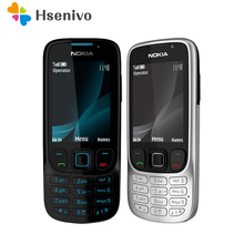 6303c разблокированный Nokia 6303 Классический FM GSM 3MP камера мобильный телефон русская клавиатура Поддержка