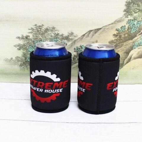 Personalizado com o Logotipo do Cliente Bolsa do Piquenique para o Vinho de Casamento Titular Stubby Impressão Alimentos Cooler Neoprene Cerveja Pode Refrigerador Presentes 150pcs