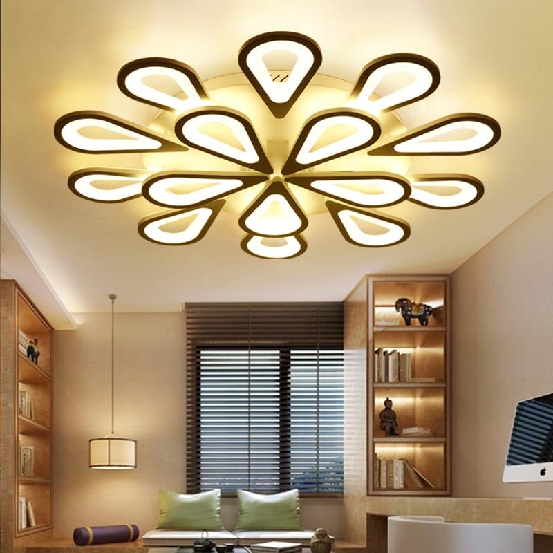Surface mounted modern led ceiling chandelier lights for living room Bedroom AC85-265V Home lighting chandeliers Free Shipping цены онлайн