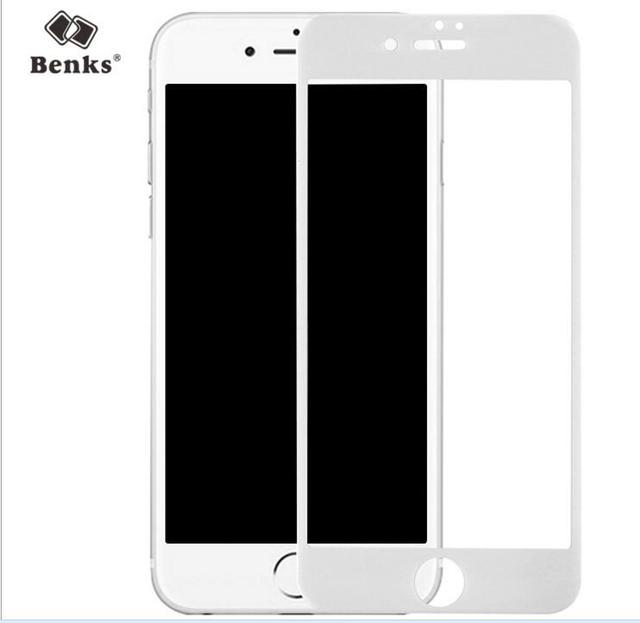 Original benks for Apple iPhone 7 full cover Tempered Glass Film KR + 0.23mm 2.5D 9H Hardness Tempered Glass Screen Protector
