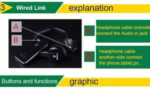 Image 5 - 2019 Bingle B616 kablosuz 2.4G kulaklık ergonomik kulaklık FM PC TV cep telefonu