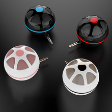 VTIN Portable Mini Bluetooth Speaker Round Box Wireless Loudspeaker Music Player with 3.5mm AUX for Smart Phones PC MP3/MP4 PSP
