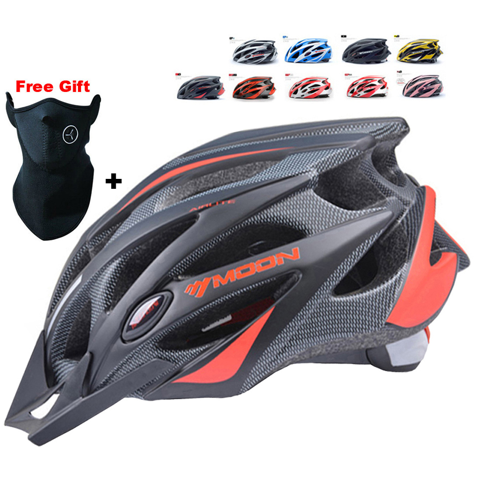 MOON Cycling font b Helmet b font Ultralight Bicycle font b Helmet b font In mold