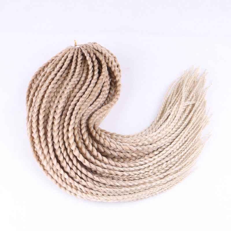 """Роскошный для плетения синтетические волосы Омбре коричневый фиолетовый блонд 24 """"12 прядей/шт 110 г Джамбо плетение Парик Косы"""