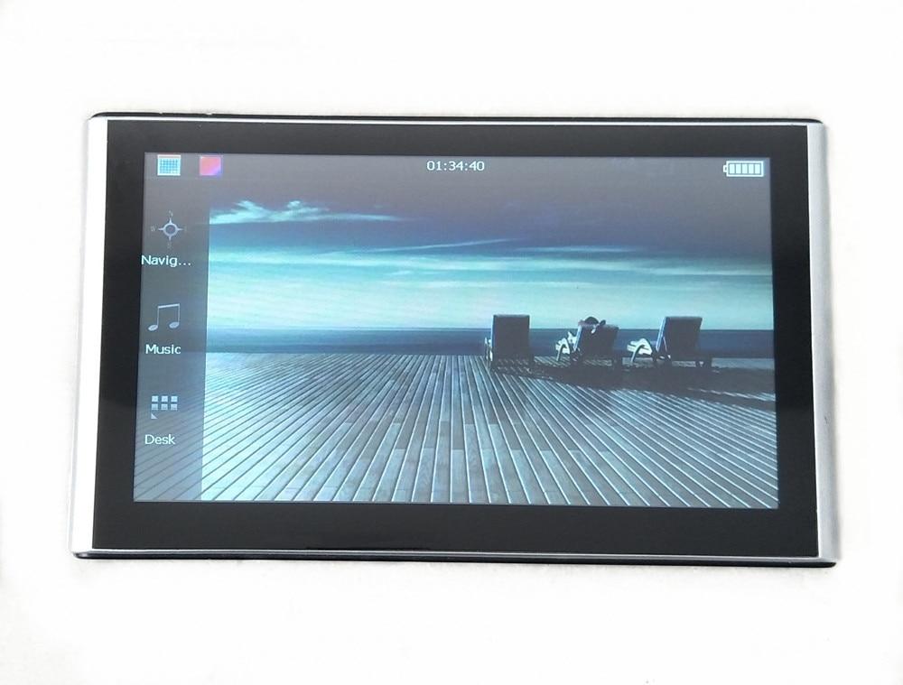 """"""" емкостный экран Автомобильный gps навигатор 256M8GB Sat Nav с бесплатными новыми картами, беспроводная камера заднего вида реверсивная парковочная система - Размер экрана, дюймов: No Bluetooth AV-IN"""