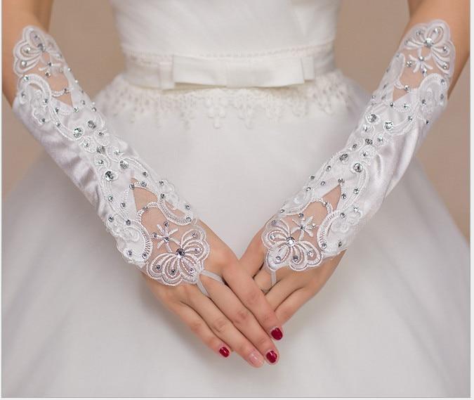Платье невесты перчатки