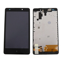 Black For Nokia XL 1030 RM 1061 LCD Display + Touch Screen Digitizer assembly with Frame free shipping