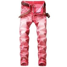 Men jeans Slim Cycling jeans men high quality straight casual denim pants fold elasticity jeans men trousers  недорго, оригинальная цена