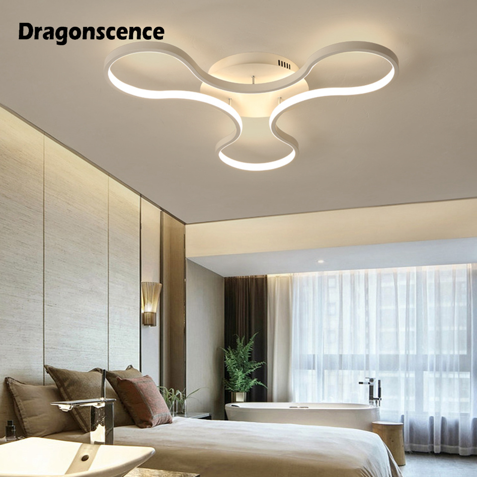 Dragonscence Remote LED Ceiling Lights New design Ceiling Lamps High brightnes For Living Room Bedroom Business applications