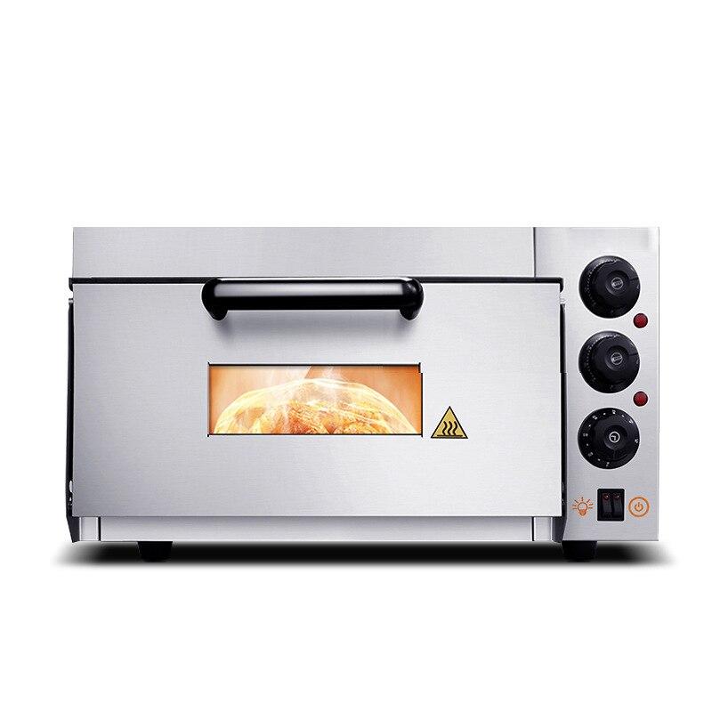 45L four à Pizza électrique gâteau pain rôti poulet Pizza cuisinière à usage Commercial cuisine cuisson fours avec pierres à Pizza D303