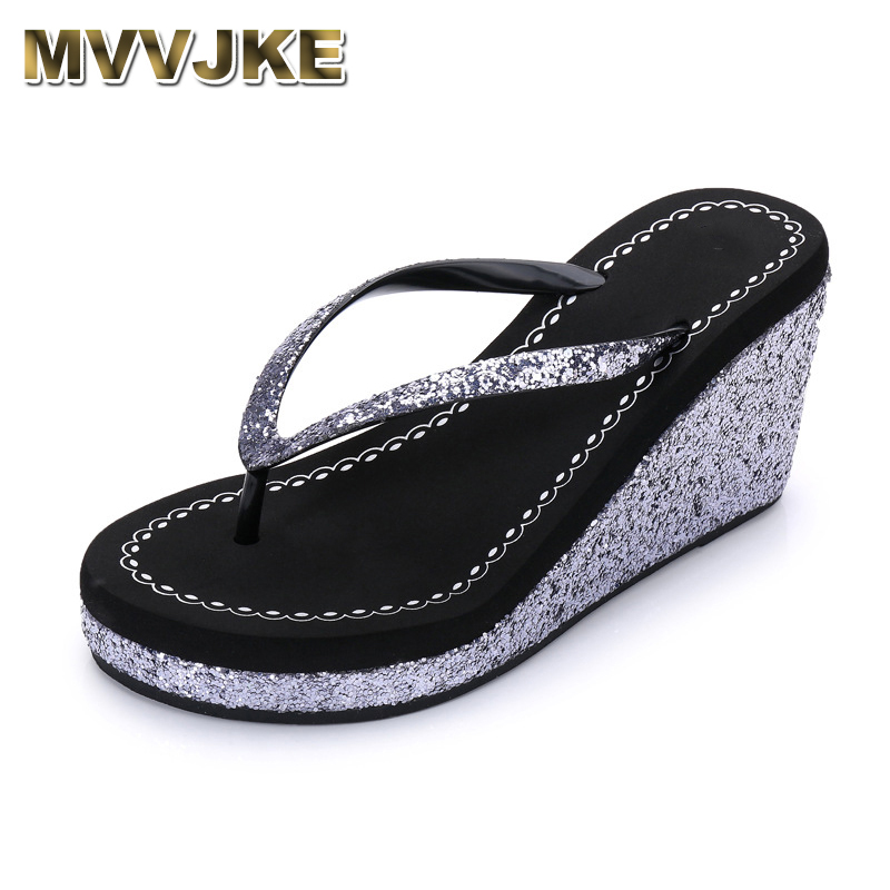 Women/'s Rhinestone Thong Slip On Sandals Summer Beach Slippers Flip Flops Shoes