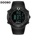 2017 new DOOBO brand men's sports watch super cool LED 50M swimwear fashion digital military gift watch student outdoor watch