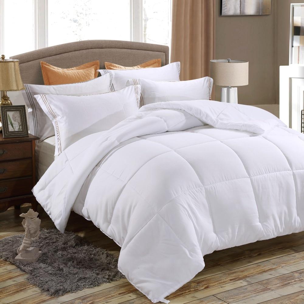 Luxury Duvet Insert Goose Down Alternative Comforter  15