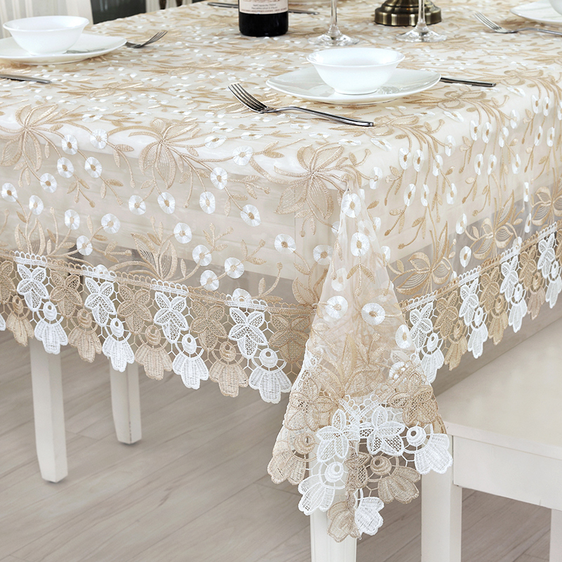 Coffee Table Lace Cloth Cover Bedside Table Glass Yarn Round Small  Tablecloth In Tablecloths From Home U0026 Garden On Aliexpress.com | Alibaba  Group
